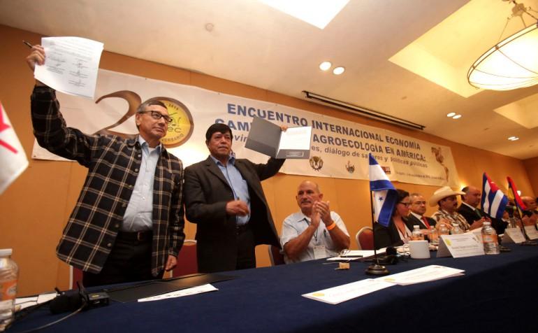 Proclama del Encuentro internacional de Agricultura campesina y agrecología en América