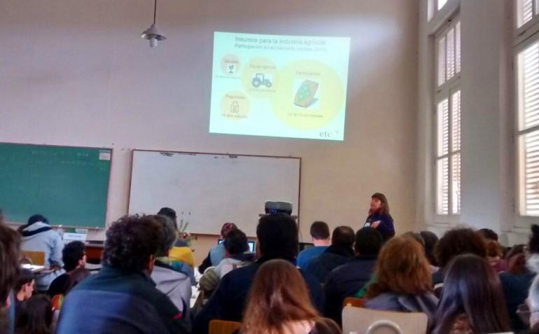 3.15-¿Necesitamos cultivos transgénicos? Perspectivas agroecológicas frente al desarrollo, liberación y uso de OGMs
